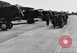 Image of West Point cadets get flight familiarization at Mitchel Field Hempstead New York USA, 1937, second 52 stock footage video 65675073087