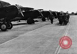 Image of West Point cadets get flight familiarization at Mitchel Field Hempstead New York USA, 1937, second 56 stock footage video 65675073087