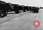 Image of West Point cadets get flight familiarization at Mitchel Field Hempstead New York USA, 1937, second 59 stock footage video 65675073087