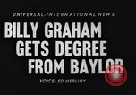 Image of Billy Graham Waco Texas USA, 1954, second 6 stock footage video 65675073127