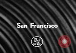 Image of DC-7 christening ceremony San Francisco California USA, 1957, second 2 stock footage video 65675073133