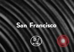 Image of DC-7 christening ceremony San Francisco California USA, 1957, second 3 stock footage video 65675073133