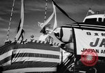 Image of DC-7 christening ceremony San Francisco California USA, 1957, second 7 stock footage video 65675073133