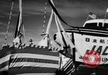 Image of DC-7 christening ceremony San Francisco California USA, 1957, second 10 stock footage video 65675073133