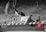 Image of DC-7 christening ceremony San Francisco California USA, 1957, second 18 stock footage video 65675073133
