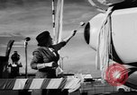 Image of DC-7 christening ceremony San Francisco California USA, 1957, second 26 stock footage video 65675073133