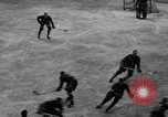 Image of ice hockey match New York United States USA, 1949, second 19 stock footage video 65675073141