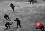 Image of ice hockey match New York United States USA, 1949, second 22 stock footage video 65675073141