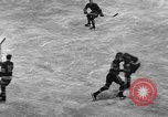 Image of ice hockey match New York United States USA, 1949, second 24 stock footage video 65675073141
