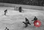 Image of ice hockey match New York United States USA, 1949, second 31 stock footage video 65675073141
