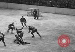 Image of ice hockey match New York United States USA, 1949, second 32 stock footage video 65675073141
