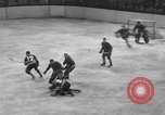 Image of ice hockey match New York United States USA, 1949, second 33 stock footage video 65675073141