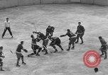 Image of ice hockey match New York United States USA, 1949, second 36 stock footage video 65675073141