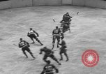 Image of ice hockey match New York United States USA, 1949, second 39 stock footage video 65675073141