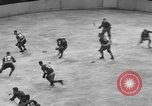 Image of ice hockey match New York United States USA, 1949, second 40 stock footage video 65675073141