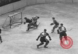 Image of ice hockey match New York United States USA, 1949, second 45 stock footage video 65675073141