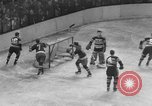 Image of ice hockey match New York United States USA, 1949, second 46 stock footage video 65675073141