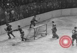 Image of ice hockey match New York United States USA, 1949, second 47 stock footage video 65675073141