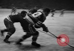 Image of ice hockey match New York United States USA, 1949, second 53 stock footage video 65675073141