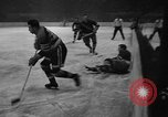 Image of ice hockey match New York United States USA, 1949, second 55 stock footage video 65675073141