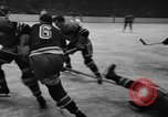 Image of ice hockey match New York United States USA, 1949, second 61 stock footage video 65675073141