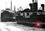 Image of lake freighters Quebec Canada Lachine, 1936, second 53 stock footage video 65675073142
