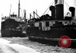 Image of lake freighters Quebec Canada Lachine, 1936, second 54 stock footage video 65675073142