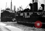 Image of lake freighters Quebec Canada Lachine, 1936, second 55 stock footage video 65675073142