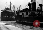 Image of lake freighters Quebec Canada Lachine, 1936, second 57 stock footage video 65675073142