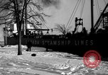 Image of lake freighters Quebec Canada Lachine, 1936, second 62 stock footage video 65675073142