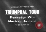Image of John F Kennedy Mexico, 1962, second 2 stock footage video 65675073149