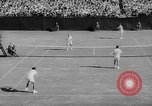 Image of United States Tennis Open Doubles final Massachusetts United States USA, 1962, second 9 stock footage video 65675073157