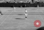 Image of United States Tennis Open Doubles final Massachusetts United States USA, 1962, second 24 stock footage video 65675073157