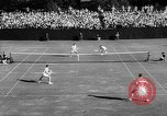 Image of United States Tennis Open Doubles final Massachusetts United States USA, 1962, second 50 stock footage video 65675073157