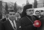 Image of unveiling of statue Greece, 1963, second 7 stock footage video 65675073169