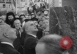 Image of unveiling of statue Greece, 1963, second 10 stock footage video 65675073169
