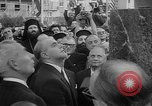 Image of unveiling of statue Greece, 1963, second 13 stock footage video 65675073169