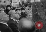 Image of unveiling of statue Greece, 1963, second 14 stock footage video 65675073169