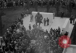 Image of unveiling of statue Greece, 1963, second 15 stock footage video 65675073169