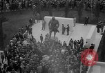 Image of unveiling of statue Greece, 1963, second 16 stock footage video 65675073169