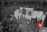 Image of unveiling of statue Greece, 1963, second 17 stock footage video 65675073169