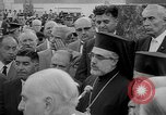Image of unveiling of statue Greece, 1963, second 24 stock footage video 65675073169