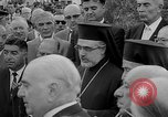 Image of unveiling of statue Greece, 1963, second 26 stock footage video 65675073169
