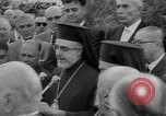 Image of unveiling of statue Greece, 1963, second 27 stock footage video 65675073169