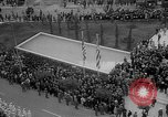 Image of unveiling of statue Greece, 1963, second 35 stock footage video 65675073169