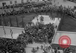 Image of unveiling of statue Greece, 1963, second 38 stock footage video 65675073169