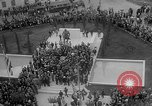 Image of unveiling of statue Greece, 1963, second 39 stock footage video 65675073169