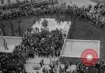 Image of unveiling of statue Greece, 1963, second 40 stock footage video 65675073169