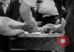 Image of finger wrestling Bavaria Germany, 1963, second 6 stock footage video 65675073171