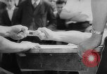 Image of finger wrestling Bavaria Germany, 1963, second 8 stock footage video 65675073171